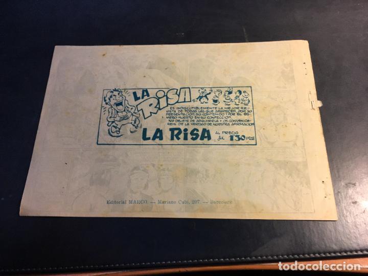Tebeos: LUCHA DE RAZAS. PIELES ROJAS CONTRA BLANCOS Nº 39 (ORIGINAL MARCO) (C5) - Foto 2 - 89492072