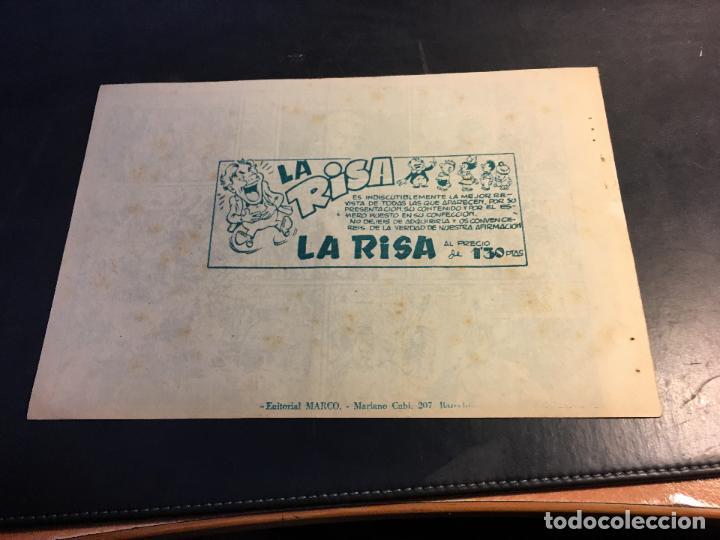 Tebeos: LUCHA DE RAZAS. PIELES ROJAS CONTRA BLANCOS Nº 6 (ORIGINAL MARCO) (C5) - Foto 2 - 89492700