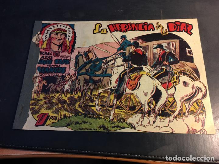 LUCHA DE RAZAS. PIELES ROJAS CONTRA BLANCOS Nº 31 (ORIGINAL MARCO) (C5) (Tebeos y Comics - Marco - Otros)