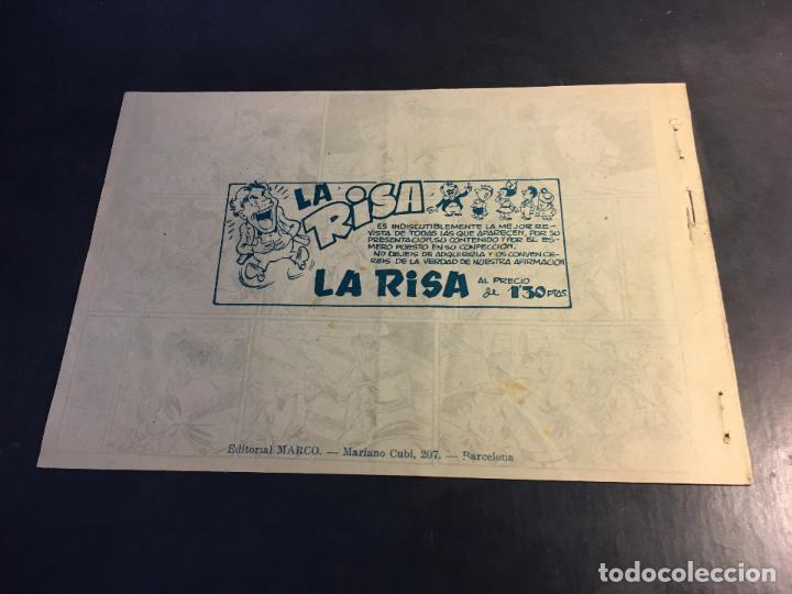 Tebeos: LUCHA DE RAZAS. PIELES ROJAS CONTRA BLANCOS Nº 31 (ORIGINAL MARCO) (C5) - Foto 2 - 89493020