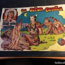 Tebeos: LUCHA DE RAZAS. PIELES ROJAS CONTRA BLANCOS Nº 28 (ORIGINAL MARCO) (C5). Lote 89493264