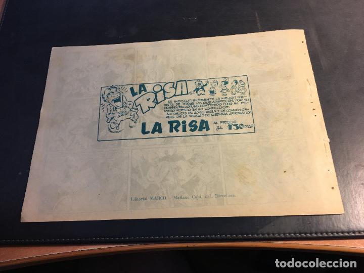 Tebeos: LUCHA DE RAZAS. PIELES ROJAS CONTRA BLANCOS Nº 22 (ORIGINAL MARCO) (C5) - Foto 2 - 89493464