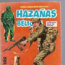 Tebeos: TEBEO HAZAÑAS BELICAS. Nº 18. EXTRA. PUBLICACION PARA LOS JOVENES. Lote 89827136