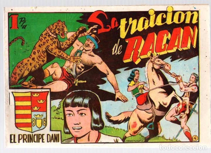 EL PRINCIPE DANI. LA TRAICION DE RAGAN. Nº 4. ORIGINAL. AÑOS 40 (Tebeos y Comics - Marco - Otros)