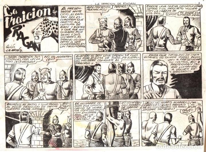 Tebeos: EL PRINCIPE DANI. LA TRAICION DE RAGAN. Nº 4. ORIGINAL. AÑOS 40 - Foto 2 - 90535935