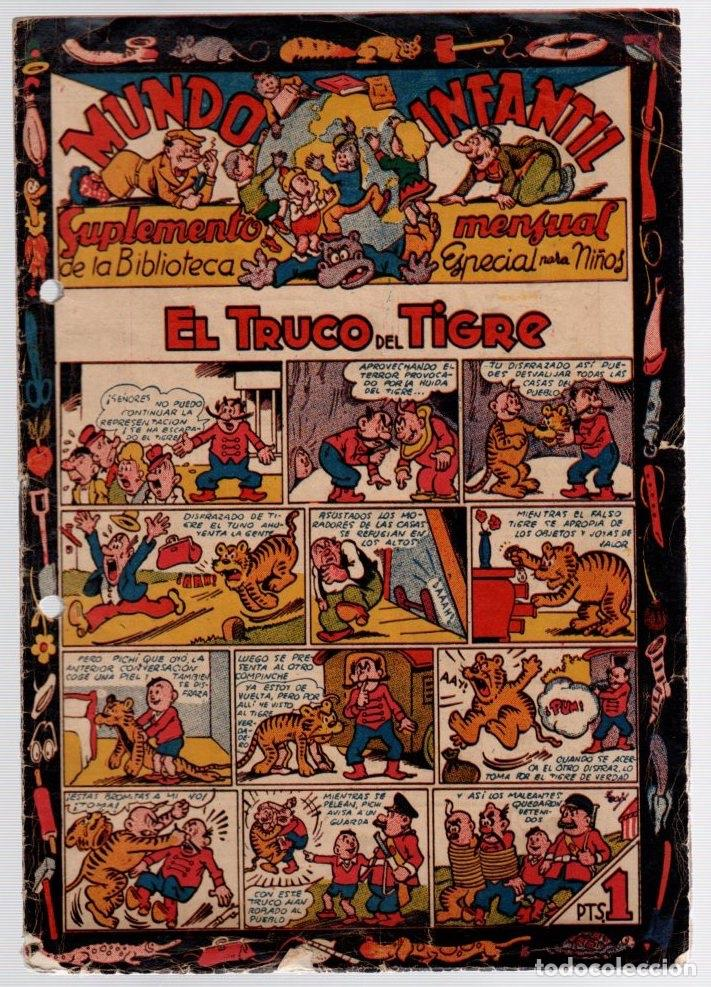 MUNDO INFANTIL. BIBLIOTECA ESPECIAL PARA NIÑOS. 1 PTA. ORIGINAL (Tebeos y Comics - Marco - Otros)