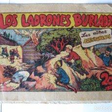 Tebeos: LOS NIÑOS AVENTUREROS - LOS LADRONES BURLADOS - MARCO 1946. Lote 94390298