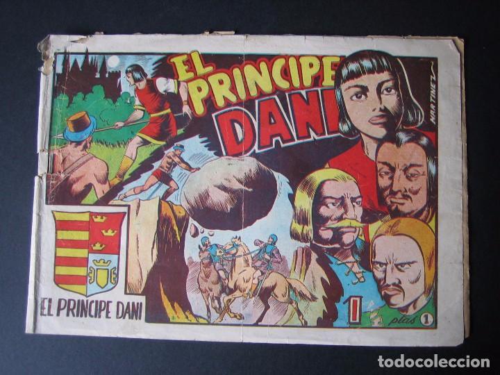 EL PRINCIPE DANI Nº 1 ( EDITORIAL MARCO,1950) (Tebeos y Comics - Marco - Otros)
