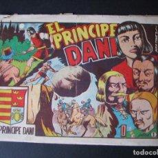 Tebeos: EL PRINCIPE DANI Nº 1 ( EDITORIAL MARCO,1950). Lote 95955583