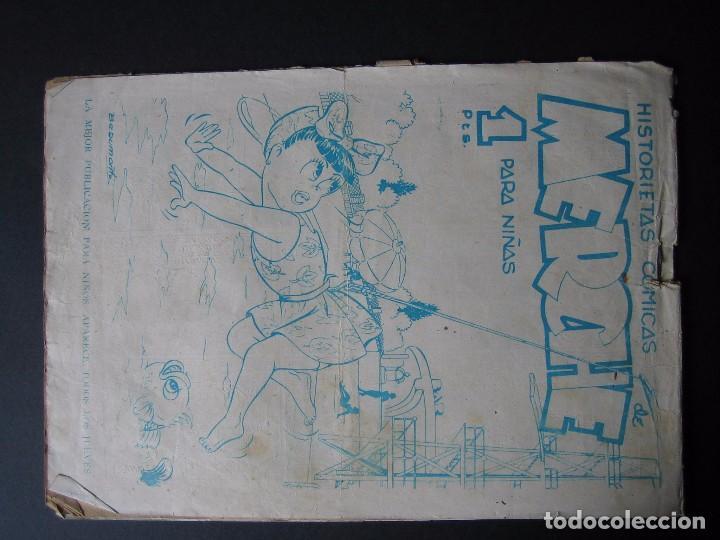 Tebeos: EL PRINCIPE DANI Nº 1 ( EDITORIAL MARCO,1950) - Foto 2 - 95955583