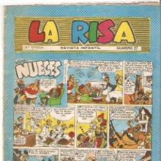 Tebeos: LA RISA TERCERA Nº 27 - ORIGINAL EN BUEN ESTADO, ESTÁ ESCANEADO. Lote 95998323