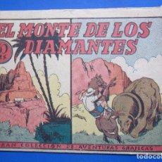 Tebeos: GRAN COLECCION DE AVENTURAS GRAFICAS , EL MONTE DE LOS DIAMANTES , MARCO. Lote 96319899