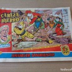 Tebeos: CABEZA DE HIERRO Nº 12 AMANECER SANGRIENTO -- SERIE CHEYENE. Lote 97166299