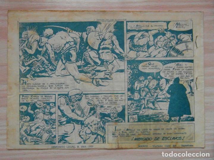 Tebeos: ¡A merced de los elementos!. nº 8 de Cabeza de hierro de Coleccion Cheyene. Ed. Marco. 1959 - Foto 2 - 99249091