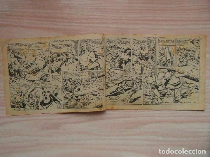Tebeos: ¡A merced de los elementos!. nº 8 de Cabeza de hierro de Coleccion Cheyene. Ed. Marco. 1959 - Foto 3 - 99249091