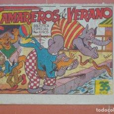 Tebeos: HIPO.BIBLIOTECA ESPECIAL PARA NIÑOS. CAMAREROS DE VERANO .GRÁFICAS MARCO.ORIGINAL 35 CTS.. Lote 99667887