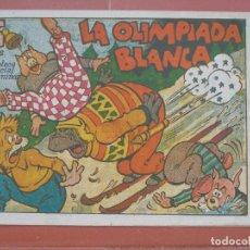 Tebeos: HIPO.BIBLIOTECA ESPECIAL PARA NIÑOS. LA OLIMPIADA BLANCA .GRÁFICAS MARCO.ORIGINAL 35 CTS.. Lote 99668183