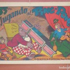 Tebeos: HIPO.BIBLIOTECA ESPECIAL PARA NIÑOS. JUGANDO AL PING-PONG .GRÁFICAS MARCO.ORIGINAL 35 CTS.. Lote 99669499
