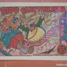 Tebeos: HIPO.BIBLIOTECA ESPECIAL PARA NIÑOS. HIPO ELECTRICISTA .GRÁFICAS MARCO.ORIGINAL 35 CTS.. Lote 99670031