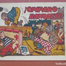 Tebeos: HIPO.BIBLIOTECA ESPECIAL PARA NIÑOS. ¡ OPÍPARO BANQUETE ! .GRÁFICAS MARCO.ORIGINAL 30 CTS.. Lote 99670927