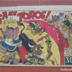 Tebeos: HIPO.BIBLIOTECA ESPECIAL PARA NIÑOS. ¡ A LOS TOROS ! .GRÁFICAS MARCO.ORIGINAL 30 CTS.. Lote 99671515