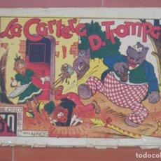 Tebeos: HIPO.BIBLIOTECA ESPECIAL PARA NIÑOS. LA CARTERA D.TROMPA .GRÁFICAS MARCO.ORIGINAL 30 CTS.. Lote 99672891