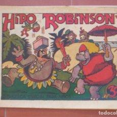 Tebeos: HIPO.BIBLIOTECA ESPECIAL PARA NIÑOS. HIPO ROBINSON .GRÁFICAS MARCO.ORIGINAL 30 CTS.. Lote 99673095