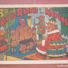 Tebeos: HIPO.BIBLIOTECA ESPECIAL PARA NIÑOS. EN EL REINO DE LOS NAPIAS .GRÁFICAS MARCO.ORIGINAL 30 CTS.. Lote 99674111