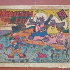 Tebeos: HIPO.BIBLIOTECA ESPECIAL PARA NIÑOS. MERIENDA EN EL RIO .GRÁFICAS MARCO.ORIGINAL 35 CTS.. Lote 99674611
