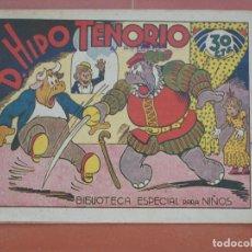 Tebeos: HIPO.BIBLIOTECA ESPECIAL PARA NIÑOS. D.HIPO TENORIO. GRÁFICAS MARCO.ORIGINAL 30 CTS.. Lote 99674927