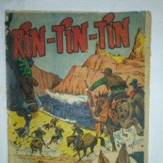 Tebeos: RIN TIN TIN- Nº 81 - LA BANDA DE JESSE JAMES- R. BEYLOC-A.PÉREZ- CORRECTO- DIFÍCIL-1963-LEAN-2150. Lote 179116396