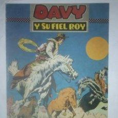 Tebeos: DAVY Y SU FIEL ROY Nº 311 -¡CUATREROS! -M. SUBIRATS-J.CASTILLO-BUENO-MUY DIFÍCIL-1967-7406. Lote 103624279