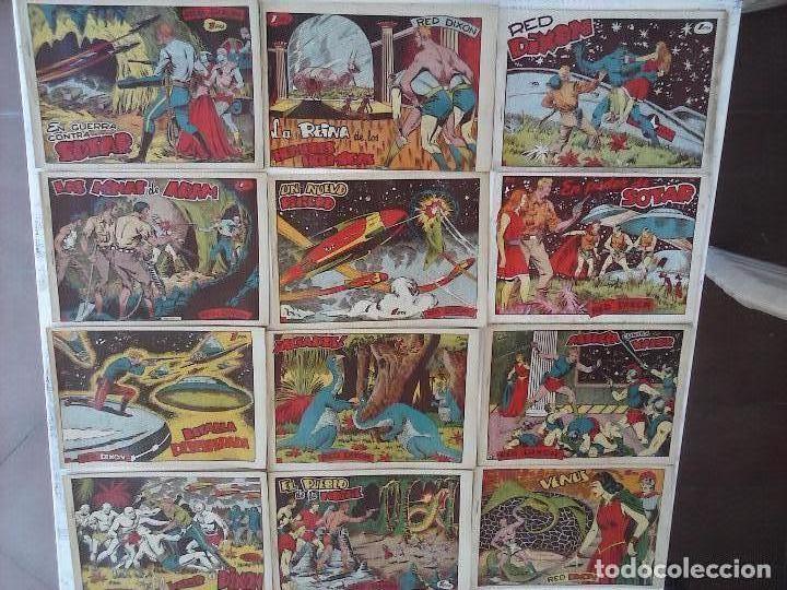 Tebeos: RED DIXON 1ª serie ORIGINAL 1954 EDI. MARCOS 1 AL 70 completa - MARTÍNEZ DIBUJOS, ver portadas - Foto 2 - 103975539