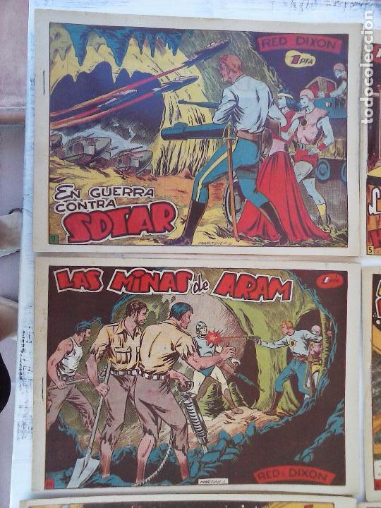 Tebeos: RED DIXON 1ª serie ORIGINAL 1954 EDI. MARCOS 1 AL 70 completa - MARTÍNEZ DIBUJOS, ver portadas - Foto 4 - 103975539