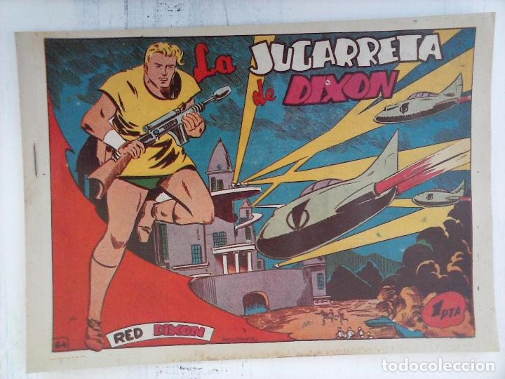 Tebeos: RED DIXON 1ª serie ORIGINAL 1954 EDI. MARCOS 1 AL 70 completa - MARTÍNEZ DIBUJOS, ver portadas - Foto 7 - 103975539