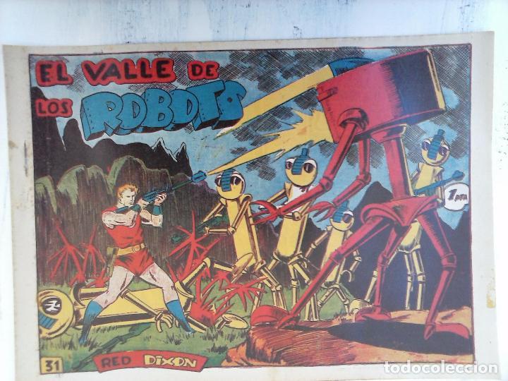 Tebeos: RED DIXON 1ª serie ORIGINAL 1954 EDI. MARCOS 1 AL 70 completa - MARTÍNEZ DIBUJOS, ver portadas - Foto 11 - 103975539