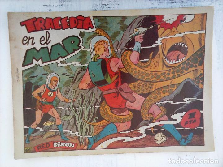 Tebeos: RED DIXON 1ª serie ORIGINAL 1954 EDI. MARCOS 1 AL 70 completa - MARTÍNEZ DIBUJOS, ver portadas - Foto 14 - 103975539