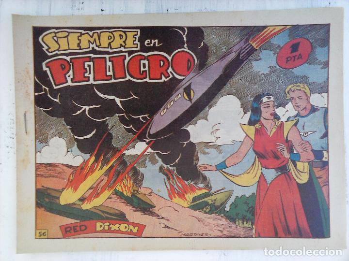 Tebeos: RED DIXON 1ª serie ORIGINAL 1954 EDI. MARCOS 1 AL 70 completa - MARTÍNEZ DIBUJOS, ver portadas - Foto 17 - 103975539
