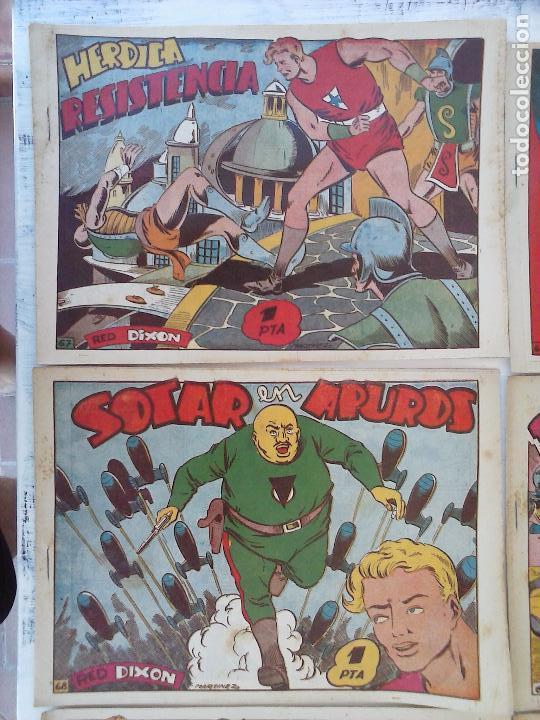 Tebeos: RED DIXON 1ª serie ORIGINAL 1954 EDI. MARCOS 1 AL 70 completa - MARTÍNEZ DIBUJOS, ver portadas - Foto 20 - 103975539