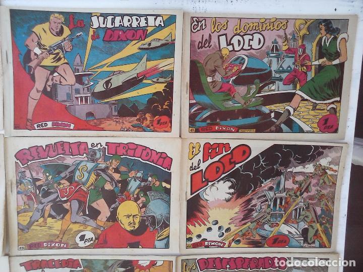 Tebeos: RED DIXON 1ª serie ORIGINAL 1954 EDI. MARCOS 1 AL 70 completa - MARTÍNEZ DIBUJOS, ver portadas - Foto 21 - 103975539