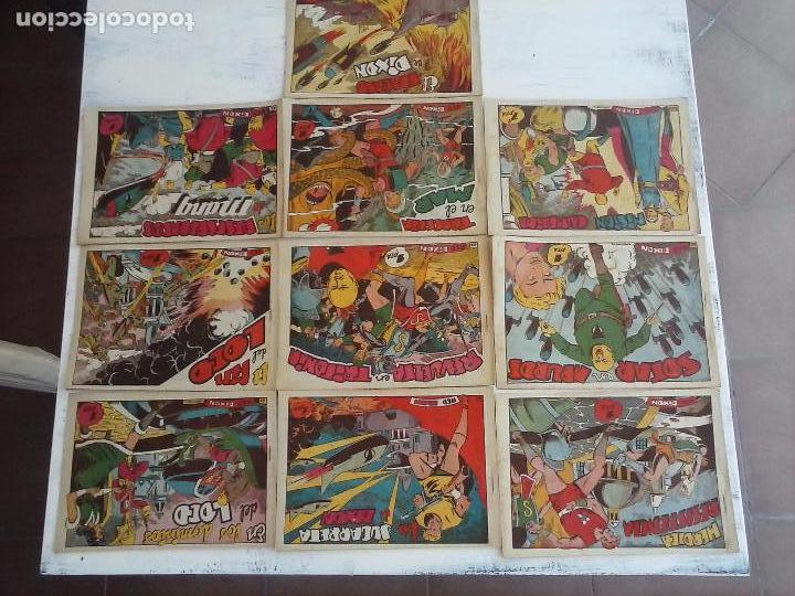 Tebeos: RED DIXON 1ª serie ORIGINAL 1954 EDI. MARCOS 1 AL 70 completa - MARTÍNEZ DIBUJOS, ver portadas - Foto 22 - 103975539