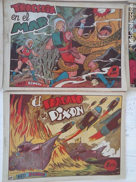 Tebeos: RED DIXON 1ª serie ORIGINAL 1954 EDI. MARCOS 1 AL 70 completa - MARTÍNEZ DIBUJOS, ver portadas - Foto 24 - 103975539