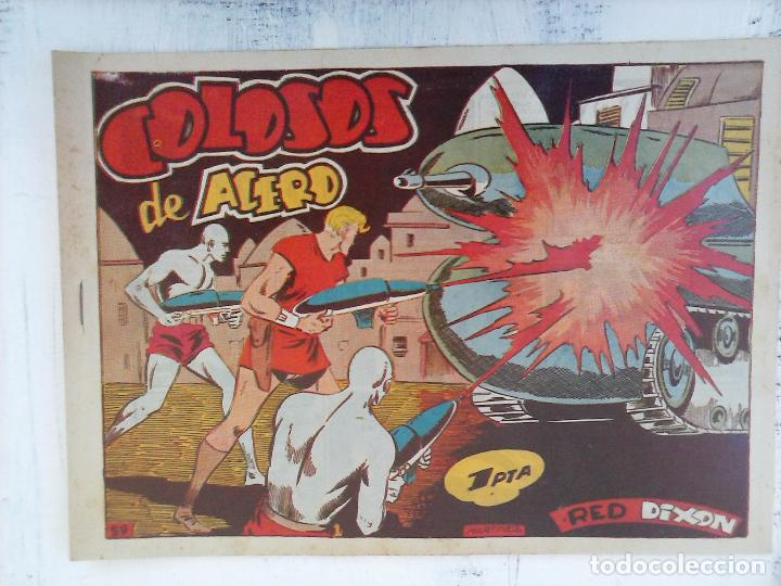 Tebeos: RED DIXON 1ª serie ORIGINAL 1954 EDI. MARCOS 1 AL 70 completa - MARTÍNEZ DIBUJOS, ver portadas - Foto 25 - 103975539