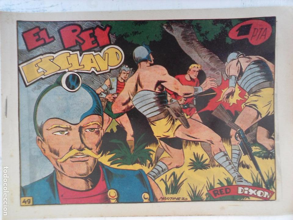 Tebeos: RED DIXON 1ª serie ORIGINAL 1954 EDI. MARCOS 1 AL 70 completa - MARTÍNEZ DIBUJOS, ver portadas - Foto 30 - 103975539