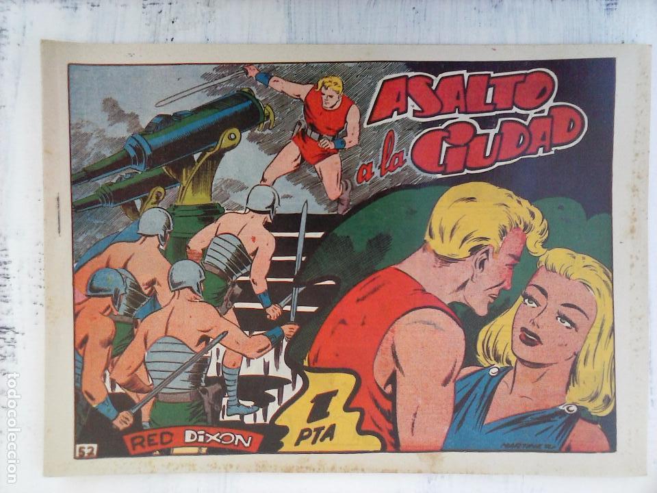 Tebeos: RED DIXON 1ª serie ORIGINAL 1954 EDI. MARCOS 1 AL 70 completa - MARTÍNEZ DIBUJOS, ver portadas - Foto 34 - 103975539
