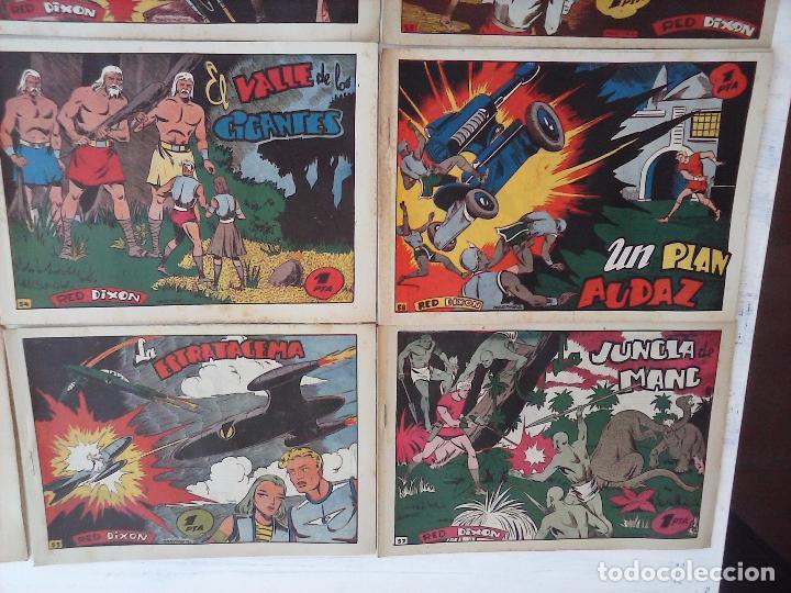 Tebeos: RED DIXON 1ª serie ORIGINAL 1954 EDI. MARCOS 1 AL 70 completa - MARTÍNEZ DIBUJOS, ver portadas - Foto 35 - 103975539
