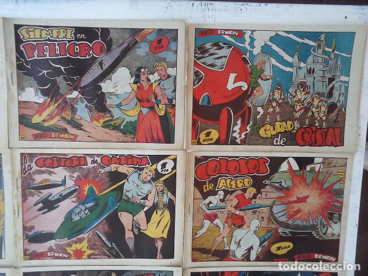 Tebeos: RED DIXON 1ª serie ORIGINAL 1954 EDI. MARCOS 1 AL 70 completa - MARTÍNEZ DIBUJOS, ver portadas - Foto 36 - 103975539