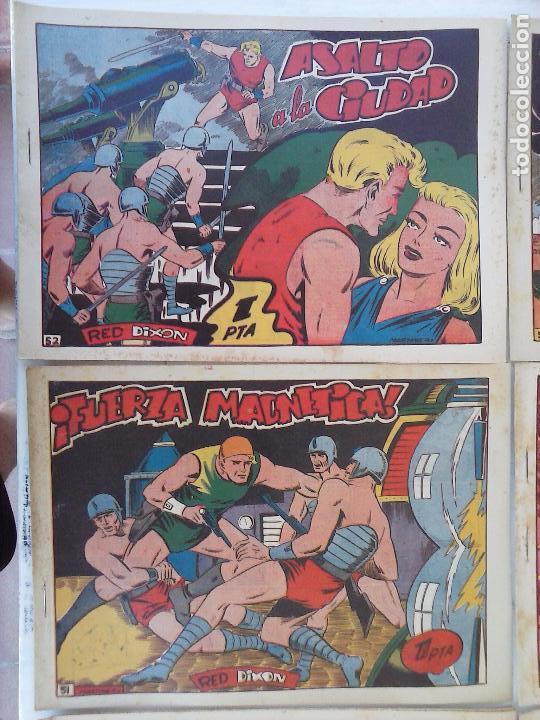 Tebeos: RED DIXON 1ª serie ORIGINAL 1954 EDI. MARCOS 1 AL 70 completa - MARTÍNEZ DIBUJOS, ver portadas - Foto 37 - 103975539