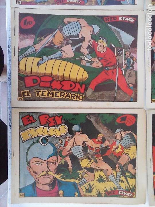 Tebeos: RED DIXON 1ª serie ORIGINAL 1954 EDI. MARCOS 1 AL 70 completa - MARTÍNEZ DIBUJOS, ver portadas - Foto 38 - 103975539