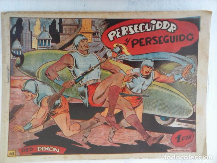 Tebeos: RED DIXON 1ª serie ORIGINAL 1954 EDI. MARCOS 1 AL 70 completa - MARTÍNEZ DIBUJOS, ver portadas - Foto 39 - 103975539